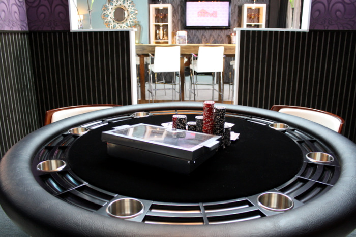 Nighthawk Poker Table on HGTV'd