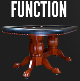 BBO Elite furniture poker table