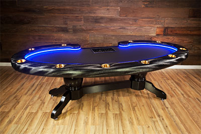 Fabulous Poker Tables Custom Casino Quality For The Home Home Remodeling Inspirations Genioncuboardxyz
