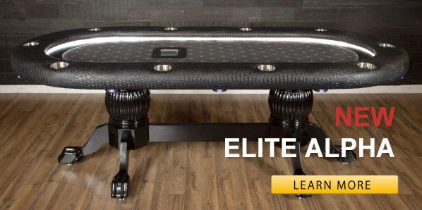Elite Alpha Poker Table