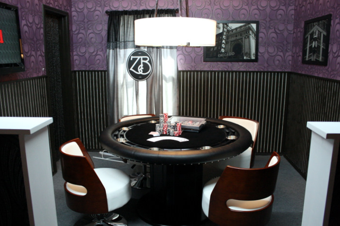 Game Room Design with Nighthawk Poker Table, HGTV