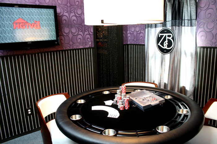 Poker Table Game Room