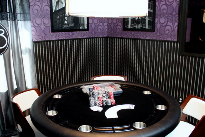 Interior Design with Dining Poker Table