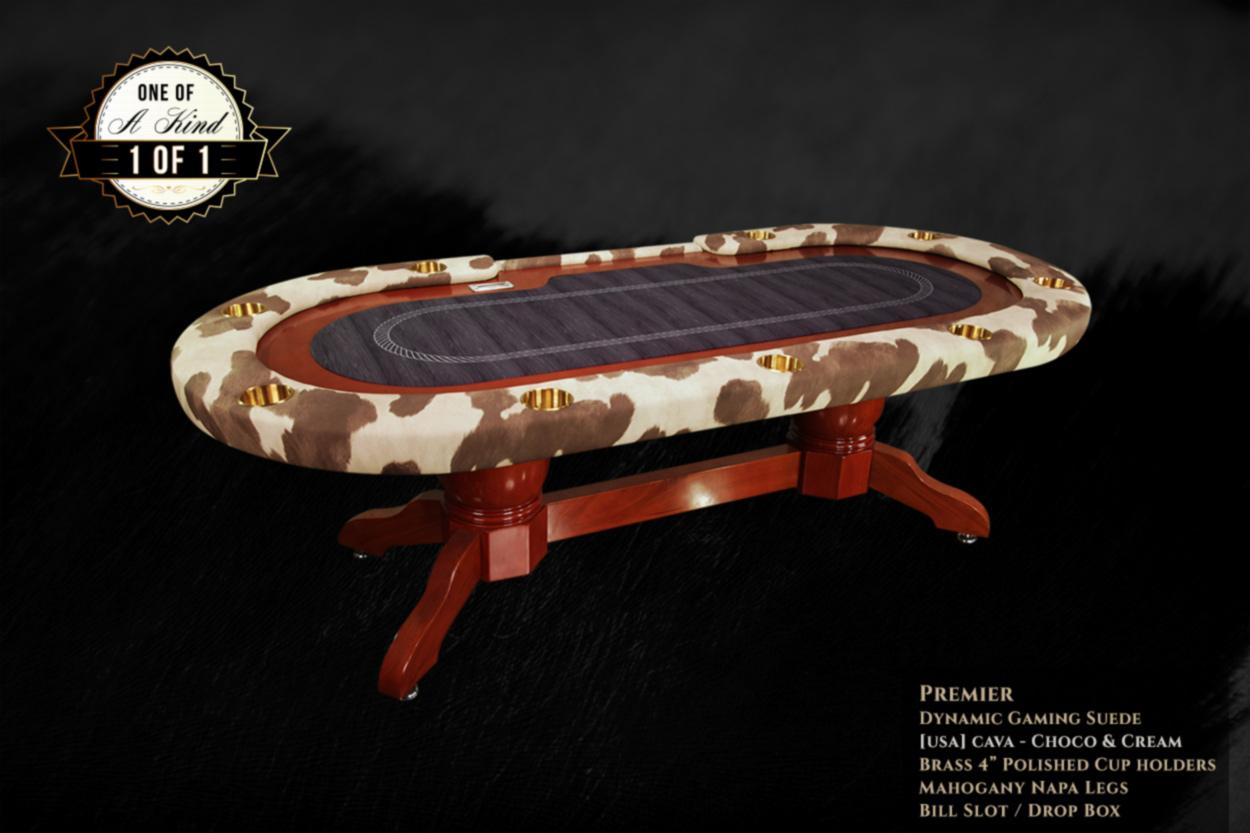 Milk Money Ishowroom Custom Premier Poker Table