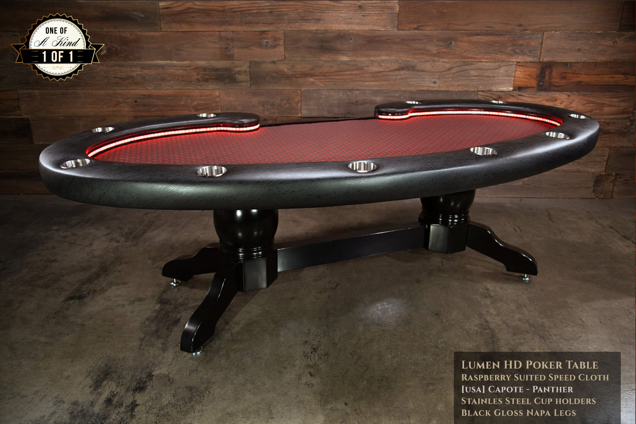 Exceptionnel SOLD. IShowroom Custom Lumen HD Poker Table ...