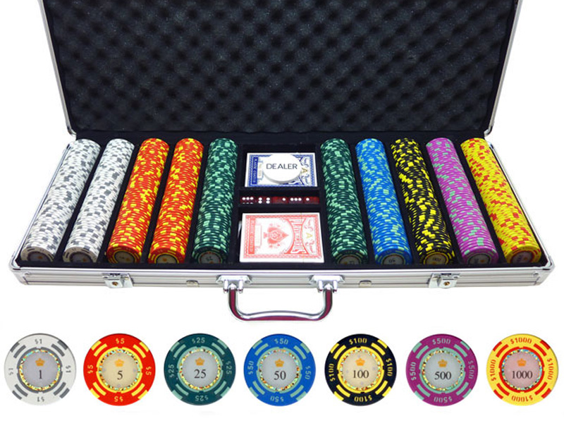 Clay poker chip set reviews crazy money slot