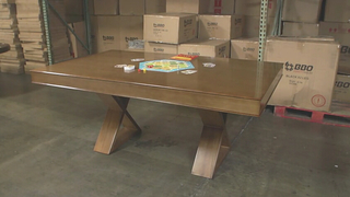 Helmsley Poker Dining Table