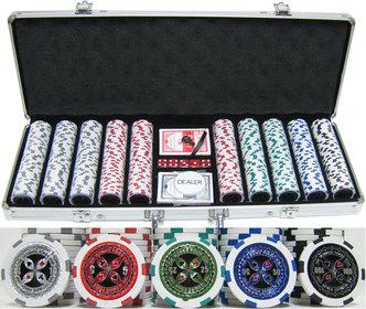 Monaco casino clay poker chips