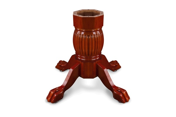 Duke Poker Table Leg - Mahogany