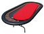 Ultimate Poker Table Replacement Playing Surface - Red