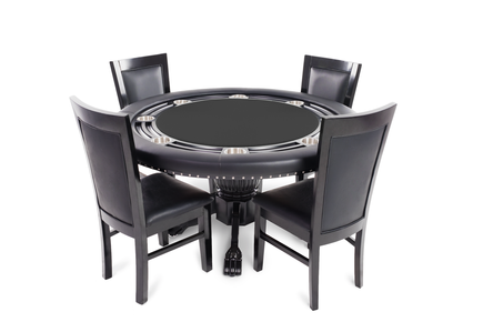 the rockwell  high end furniture poker table with dining top, Dining tables