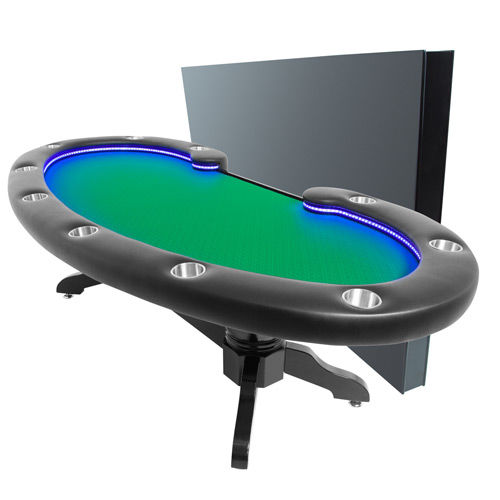 The Lumen HD Poker Table on selector