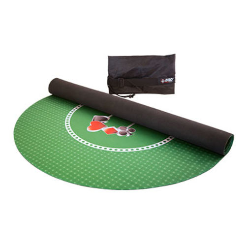 Portable Poker Party Mat - Green on selector