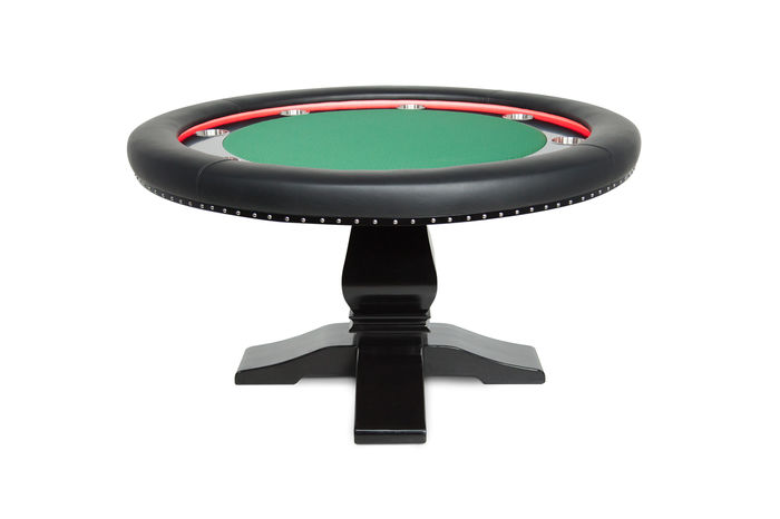 Round poker table with led lights the ginza for 12 seater poker table