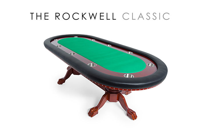 The Rockwell   High End Furniture Poker Table With Dining Top Options   BBO Poker  Tables